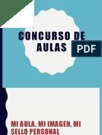 CONCURSO DE AULAS jacky