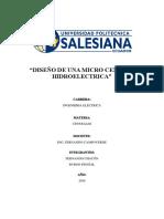 Informe Diseño de Micro Central Hidroelectrica.docx