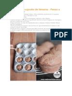 Como fazer cupcake de tâmaras
