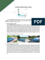 TMP - Tipe Sistem sirkulasi kolam renang