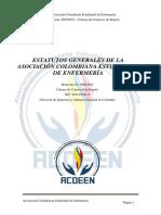 Estatutos Generales de la Asociación Colombiana Estudiantil de Enfermería