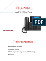 Cisco IP Phone 88XX Training Material