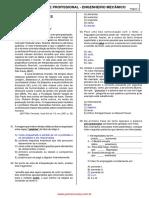 Agente Profissional - Engenheiro Mecânico - URBS 2007