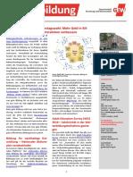 Infoblatt Weiterbildung September 2017