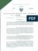 CONFORMAN COMISIÓN DE EVALUACIÓN PARA APLICACIÓN DEL ENFOQUE AMBIENTAL EN SISTEMA EDUCATIVO DE EBR