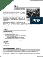 Opinión pública - Wikipedia, la enciclopedia libre