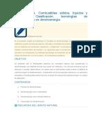 Dendroenergía. Combustibles sólidos, líquidos y gaseosos. Clasificación, tecnologías de transformación en dendroenergía