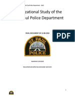 Organizational Study of the Saint Paul Police Department Final Report 12-08-2019