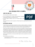Instrucciones Imprimir Agendas