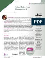 Pautas de pruebas y manejo de retrovirus felino AAFP 2020
