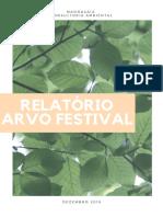 Relatório de Sustentabilidade - ARVO Festival - 28 de Dezembro