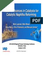 Reforming Catalysts