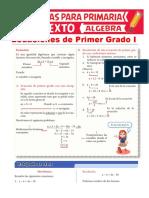 Ecuaciones-de-Primer-Grado-con-Coeficientes-Enteros-para-Sexto-de-Primaria