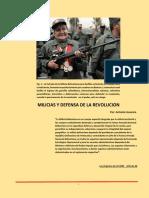 Milicias y Defensa de La Revolucion