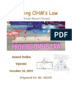 proving ohms law  lab report   1
