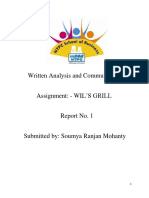 Written Analysis and Communication_soumya