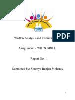 Written Analysis and Communication_soumya
