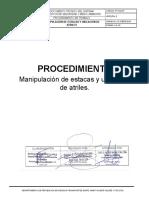 PT-SGI-07 MANIPULACIÓN DE ESTACAS Y UBICACIÓN DE ATRILES