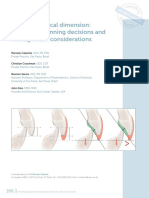 Occlusal vertical dimension treatment planning decisions and management considerations