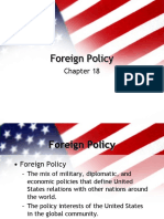 Foreign Policy of USA