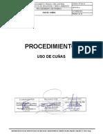 PT-SGI-10 USO DE CUÑAS