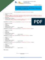 Guía de actividades 2020