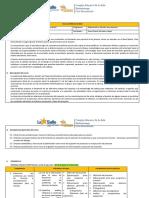 9 Malla Curricular E. Proyectos 4o. BACH Educación 2 020