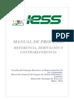 Proyecto Manual de Referencia, derivacion, contrareferencia del IESS