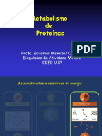 Aula 7- Metabolismo de Proteínas no Exercício