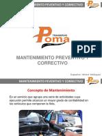 MANTENIMIENTO PREVENTIVO Y CORRECTIVO DE UNIDADES