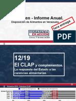 informe Ciudadanía en Acción 2019