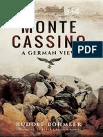 Monte Cassino A German View