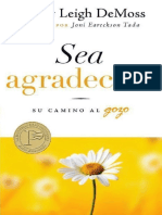 Sea Agradecido - Su Camino al Gozo (Nancy Leigh DeMoss)