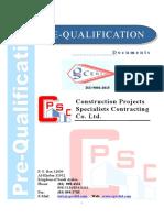 pre-qualification -