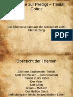 180603_10 Predigt - Trinität - Bibelverse