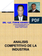 ANALISIS COMPETITIVO DE LA INDUSTRIA.ppt