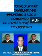 CONTRATOS DE PRÉSTAMO A USO O COMODATO.ppt
