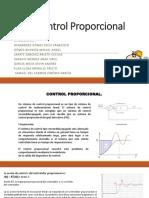3.3 Control proporcional