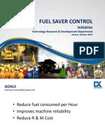 Fuel Saver Control  Presentation Rev.