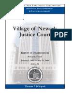 Comptroller Audit -- Newark Court System