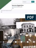 Historia de la lectura en Argentina | Publicación | Buenos Aires