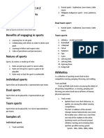 physical education and health 2