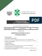 Gaceta Oficial CDMX 17/01/20