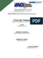 RUBRICA Cuadro descriptivo