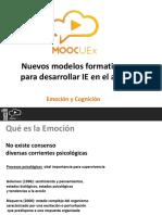 M1 V2. Emoción y Cognición
