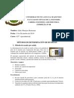 MÉTODOS DE DETERMINACIÓN DE HUMEDAD