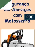 treinamento para operador de motosserra