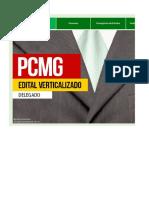 Edital Verticalizado   Delegado   PCMG
