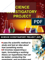 SCIENCE INVESTIGATORY PROJECT 2019.ppt