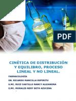 Cinética de distribución y equilibrio, procesos de orden lineal y no lineal